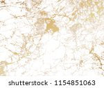 marble background with golden... | Shutterstock .eps vector #1154851063