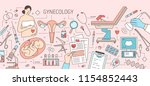 creative horizontal banner with ... | Shutterstock .eps vector #1154852443
