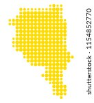 map of ticino | Shutterstock .eps vector #1154852770