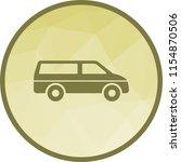 van  travel  luggage   Shutterstock .eps vector #1154870506
