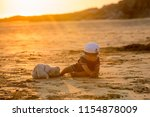 cute baby child  sweet boy ...   Shutterstock . vector #1154878009