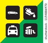 vehicle icon. 4 vehicle set...   Shutterstock .eps vector #1154886970