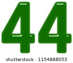 numeral 44  forty four ... | Shutterstock . vector #1154888053