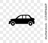 long car vector icon isolated...   Shutterstock .eps vector #1154896669