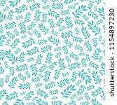 stylish seamless leaf pattern.   Shutterstock .eps vector #1154897230