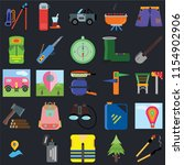 set of 25 icons such as match ...