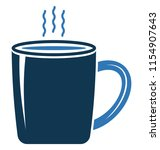 instant tea vector icon... | Shutterstock .eps vector #1154907643