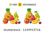 finding differences. children... | Shutterstock .eps vector #1154915716