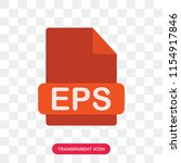 eps vector icon isolated on...   Shutterstock .eps vector #1154917846