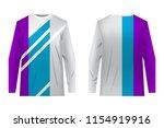 templates of sportswear designs ...   Shutterstock .eps vector #1154919916