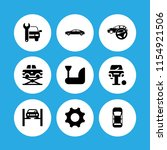 9 wrench icons in vector set....   Shutterstock .eps vector #1154921506