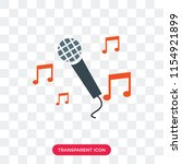 sing vector icon isolated on... | Shutterstock .eps vector #1154921899