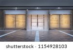 store display in mall 3d...   Shutterstock . vector #1154928103