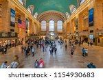 new york  usa   may 11  2018 ...   Shutterstock . vector #1154930683