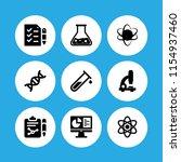 biotechnology icon. 9... | Shutterstock .eps vector #1154937460