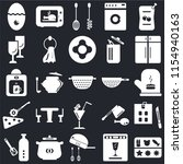 set of 25 icons such as molded  ...