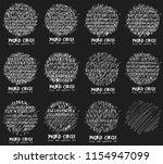 font doodle brush illustration... | Shutterstock .eps vector #1154947099