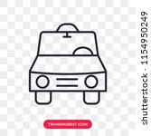 car vector icon isolated on...   Shutterstock .eps vector #1154950249