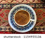 close up looking at turkish... | Shutterstock . vector #1154955136