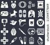 set of 25 icons such as... | Shutterstock .eps vector #1154977849