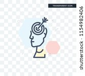 focus vector icon isolated on... | Shutterstock .eps vector #1154982406