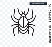 beetle vector icon isolated on... | Shutterstock .eps vector #1154982490