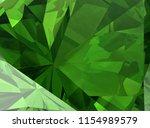 realistic diamond texture close ... | Shutterstock . vector #1154989579