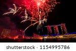 singapore   jul 28  2018  ...   Shutterstock . vector #1154995786