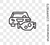 car engine vector icon isolated ...   Shutterstock .eps vector #1154995873
