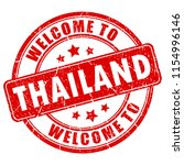 welcome to thailand rubber seal ... | Shutterstock .eps vector #1154996146