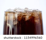 selective fucus of cola soft... | Shutterstock . vector #1154996560