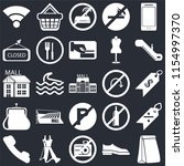 set of 25 icons such as paper...