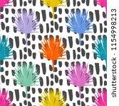 pop art print seamless pattern... | Shutterstock .eps vector #1154998213