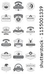 camping logos templates vector... | Shutterstock .eps vector #1155001339
