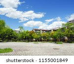 view of a residential area in... | Shutterstock . vector #1155001849