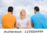 best traits of great boyfriend. ... | Shutterstock . vector #1155004999