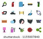 colored vector icon set   field ...   Shutterstock .eps vector #1155007840