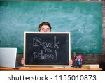 teacher or school principal... | Shutterstock . vector #1155010873