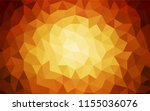 dark red vector polygon... | Shutterstock .eps vector #1155036076