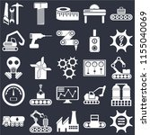 set of 25 icons such as options ...
