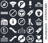 set of 25 icons such as girl ...