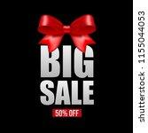 big sale . huge discount.  | Shutterstock .eps vector #1155044053