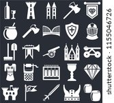 set of 25 icons such as beer ...