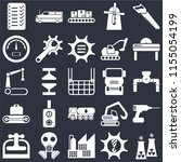 set of 25 icons such as nuclear ...