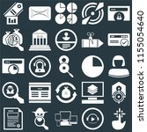 set of 25 icons such as tap ...