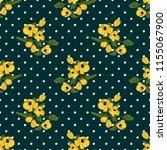 seamless vector ornamental... | Shutterstock .eps vector #1155067900