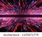 3d render  big bang  galaxy... | Shutterstock . vector #1155071779