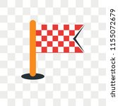 finish vector icon isolated on... | Shutterstock .eps vector #1155072679