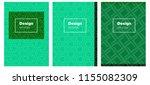 light blue  green vector cover...
