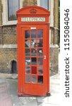 uk telephone cabine | Shutterstock . vector #1155084046